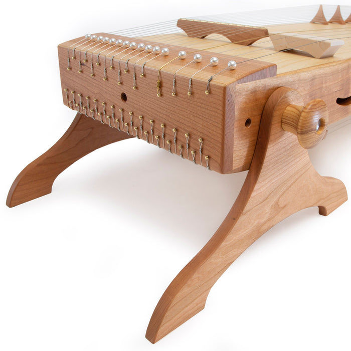 feeltoneusa KoTaMo Concert Monochord can be played standing upright or horizontal for Mediation settings, yoga, concerts .. | We Play Well Together