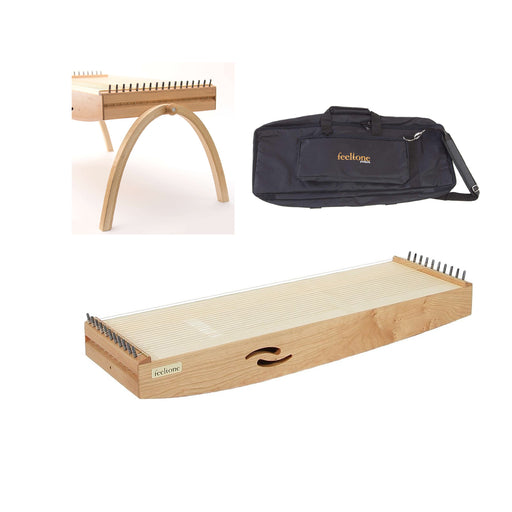 feeltone - Monolini monochord, Therapy monochord and Body monochord small, lightweight  and versatile with Travel bag and U-stand legs   | We Play Well Together