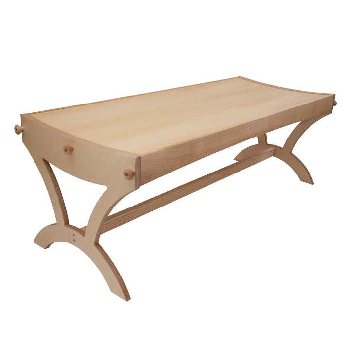 feeltone monochord table, 60 string monochord bed for therapy |WePlayWellTogether