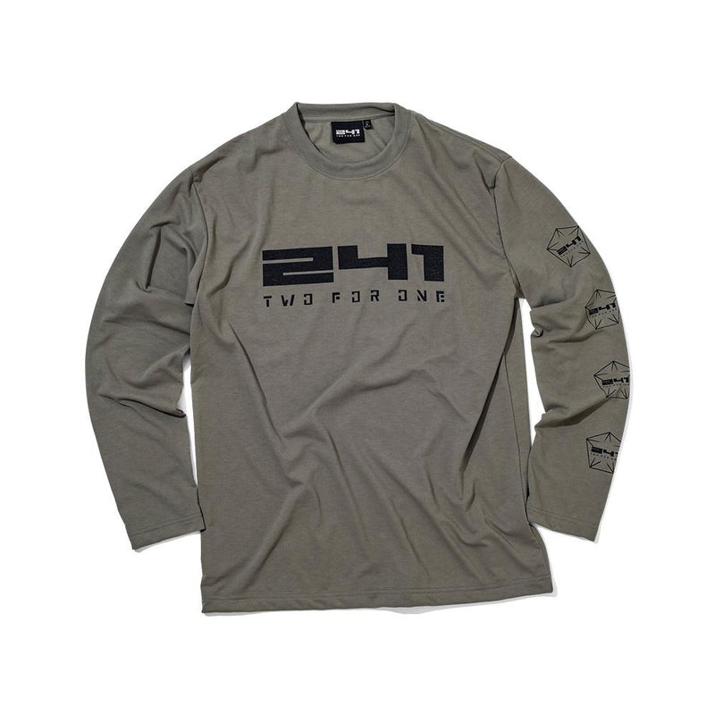 20%OFF 241COLLECTION 18-19 241-PENTAGON LOGO LONGSLEEVE TEE MB6820 - 241COLLECTION