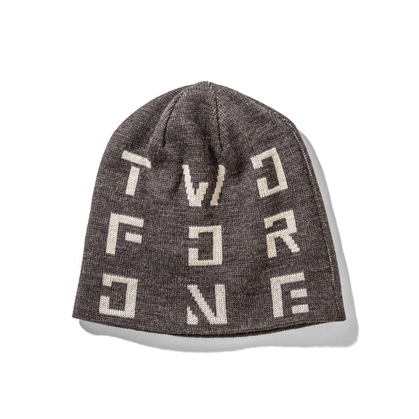 【20%OFF】241COLLECTION 19-20 241-SQUARE LOGO BEANIE MB7905 - 241COLLECTION