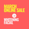 SINIMA Salon March Online Sale Whitening Facial