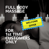 Full Body Massage Welcome Offer