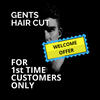 Gents Hair Cut Welcome Offer