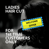 Ladies Hair Cut Welcome Offer