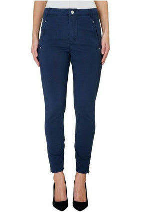 JOLIE 432 ZIP, NAVY, PANTS (21620)