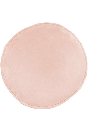 Peach Skin Velvet Pea Cushion