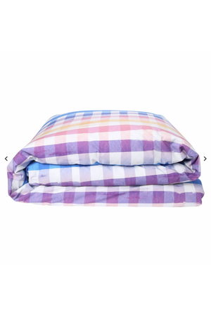 Across The Border Cotton Quilt Cover - Queen