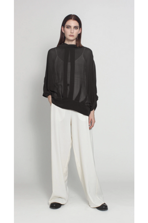 Sheer Cocoon Jacket
