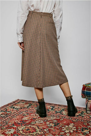 Jahel Check Skirt