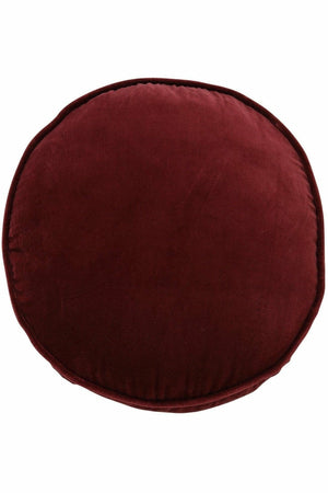 Pomegranate Velvet Pea Cushion