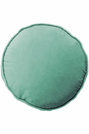 Eucalypt Velvet Pea Cushion