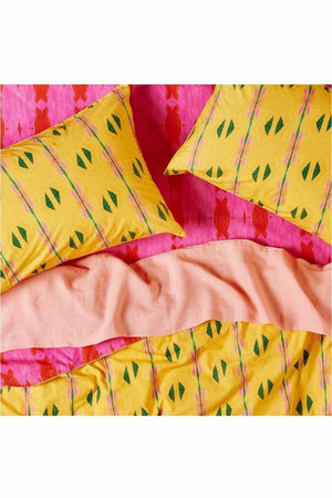 Jamaica RV Flamingo Cotton Quilt Cover - Queen