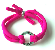 Inspire / Dream / Believe Circle Lycra Bracelet