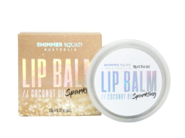 Shimmer Squad Silver lip balm