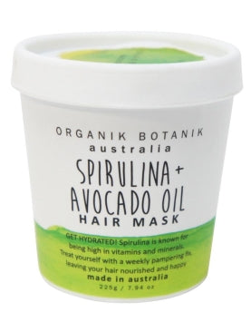 Organik Botanik Spirulina & Avocado Oil Hair Mask (200g)