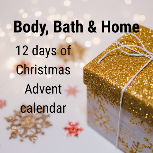 Bath, Body and Home Advent Calendar - 12 days of Christmas