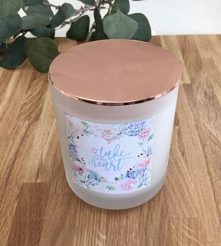 Limited Edition Take my Heart Soy Candle