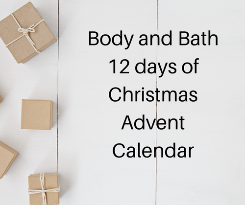 Body and Bath Advent Calendar - 12 days of Christmas
