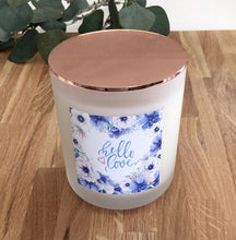 Limited Edition Hello lover Soy Candle