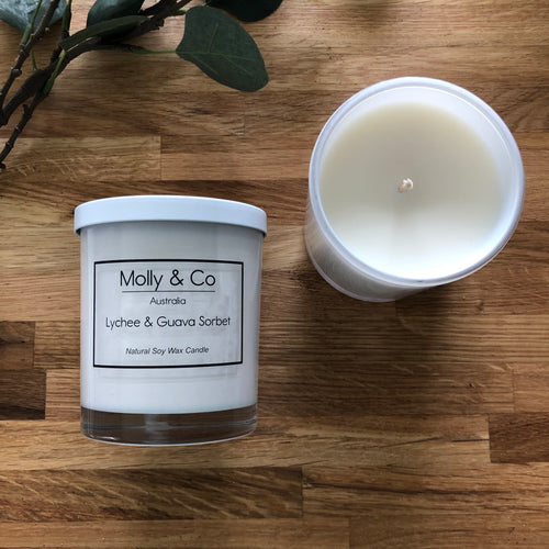 Lychee & Guava Sorbet Soy Candle