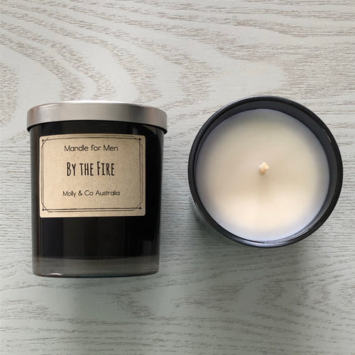 By the fire Soy Candle