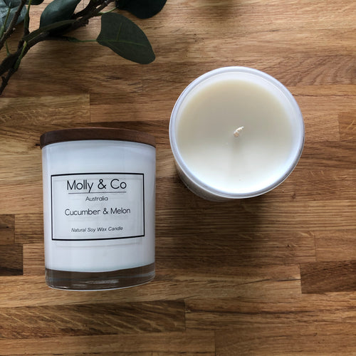 Cucumber and Melon Soy Candle