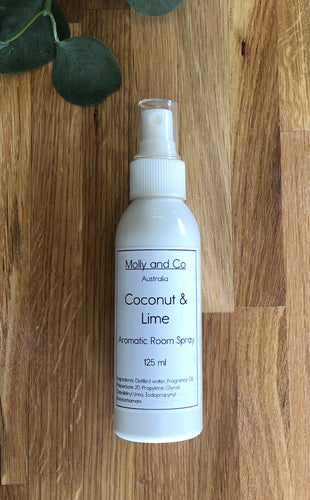 Coconut and Lime Room Spray