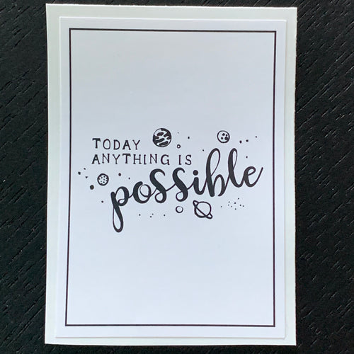 Today anything is possible - Soy candle
