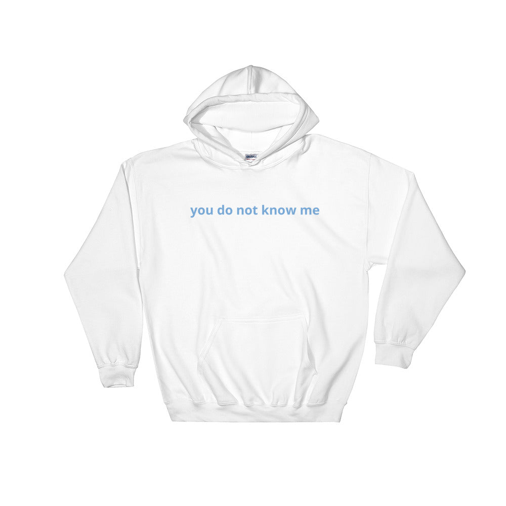 Javi Do Not Know Me Hoodie