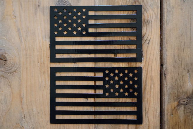 Tactilian American Flag Car Magnet