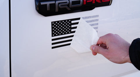 American Flag Decal (Vehicle Set) **Limited Time Free Shipping**