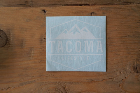 Tacoma Lifestyle- Decal **Limited Time Free Shipping**