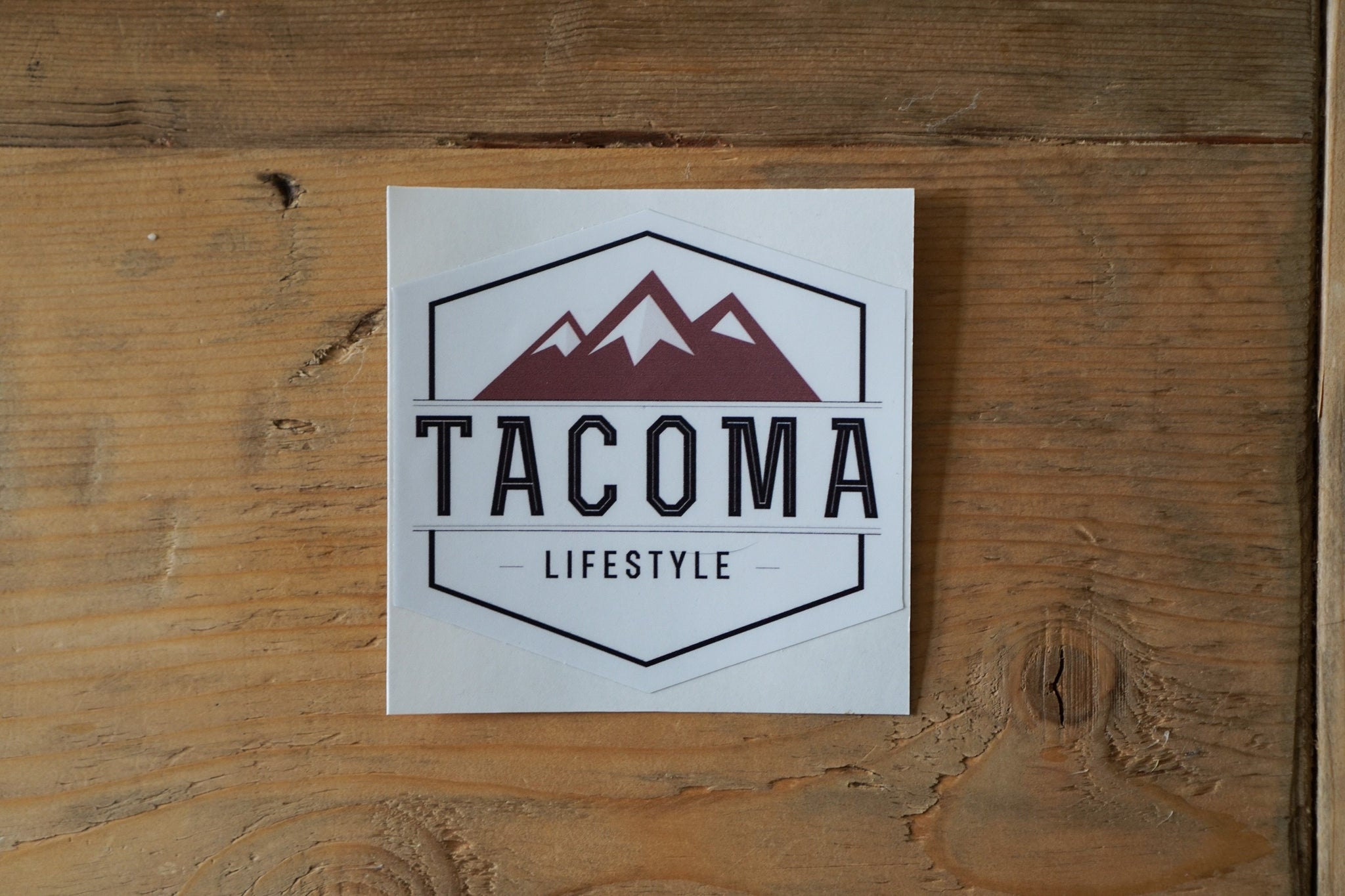 Tacoma Lifestyle- Sticker **Limited Time Free Shipping**