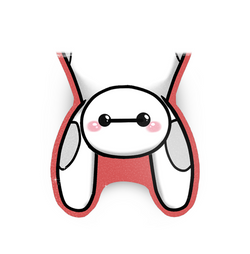 Baymax Magnetic Bookmark