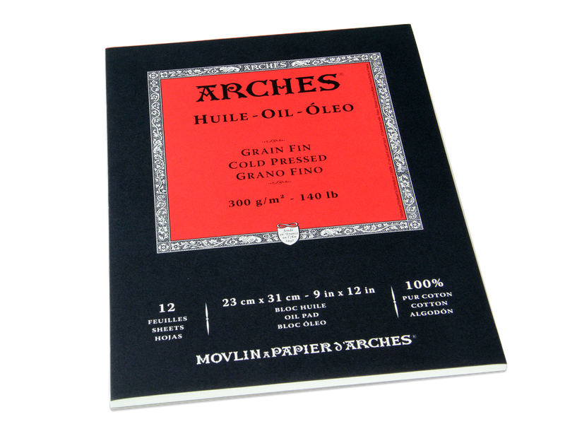 Oil Painting Pad 12x16 by Arches