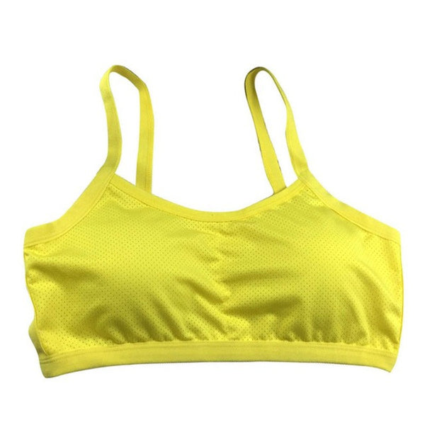 Women Thin Backless Bra Padded  Crop Tops