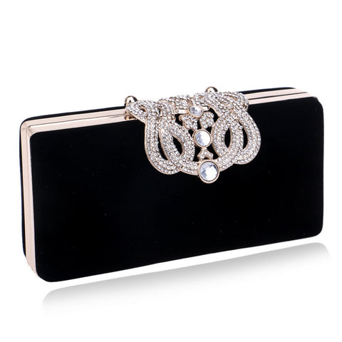 Small Women Clutch Crown Diamonds Lady's Evening Bags