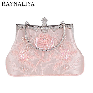 Red Luxury Brand Women Diamond Evening Bag (Delivers in 16-26 days)
