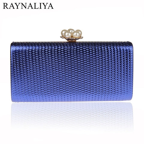Vintage Women Beading Rhinestones Faux- Diamonds Clutch, Comes in 5 colors. Delivers in 16-26 days.