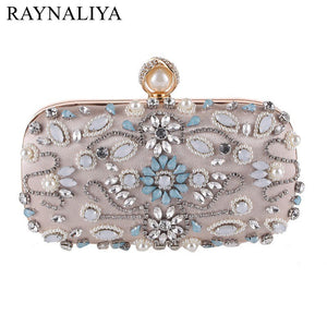 Clutch Bags, Beads, Evening Exquisite ,Delivers in 16-26 days