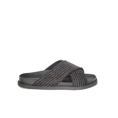 Department Of Finery Isla Slide Black