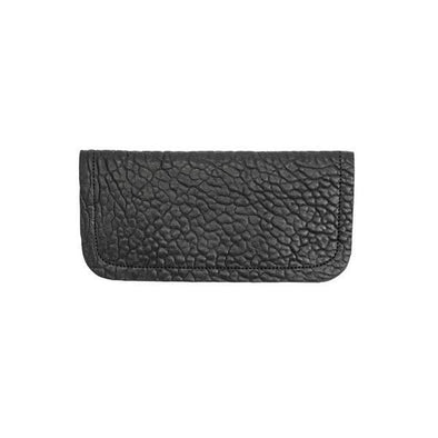 L A I R Doblez Wallet Large Black Stitch