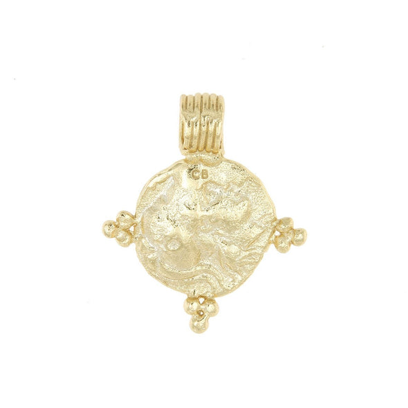 Cleopatras Bling Gabriel Pendant 18K Gold Plated