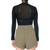 Lair Wear Edie Short Khaki