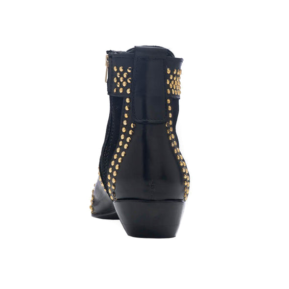 Anine Bing Charlie Boots Gold Studs