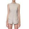 Lair Wear Morrison Romper Topstitch Natural