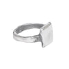 CURTIS.925 Square Ring