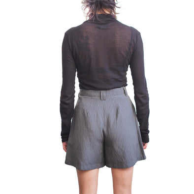 L A I R Edie Short Washed Silk