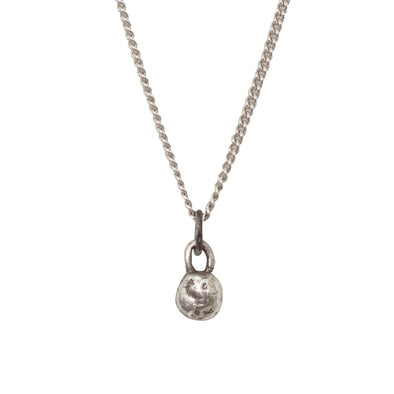 CURTIS.925 Kettlebell Pendant Necklace